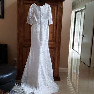 Mary's Bridal Dresses - Stunning white Moda Bella wedding gown